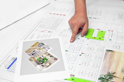 Rouleau de papier blanc - Plans techniques